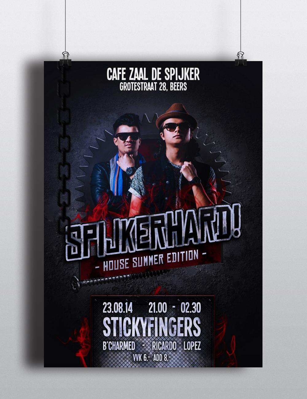 Spijkerhard - Photoshop