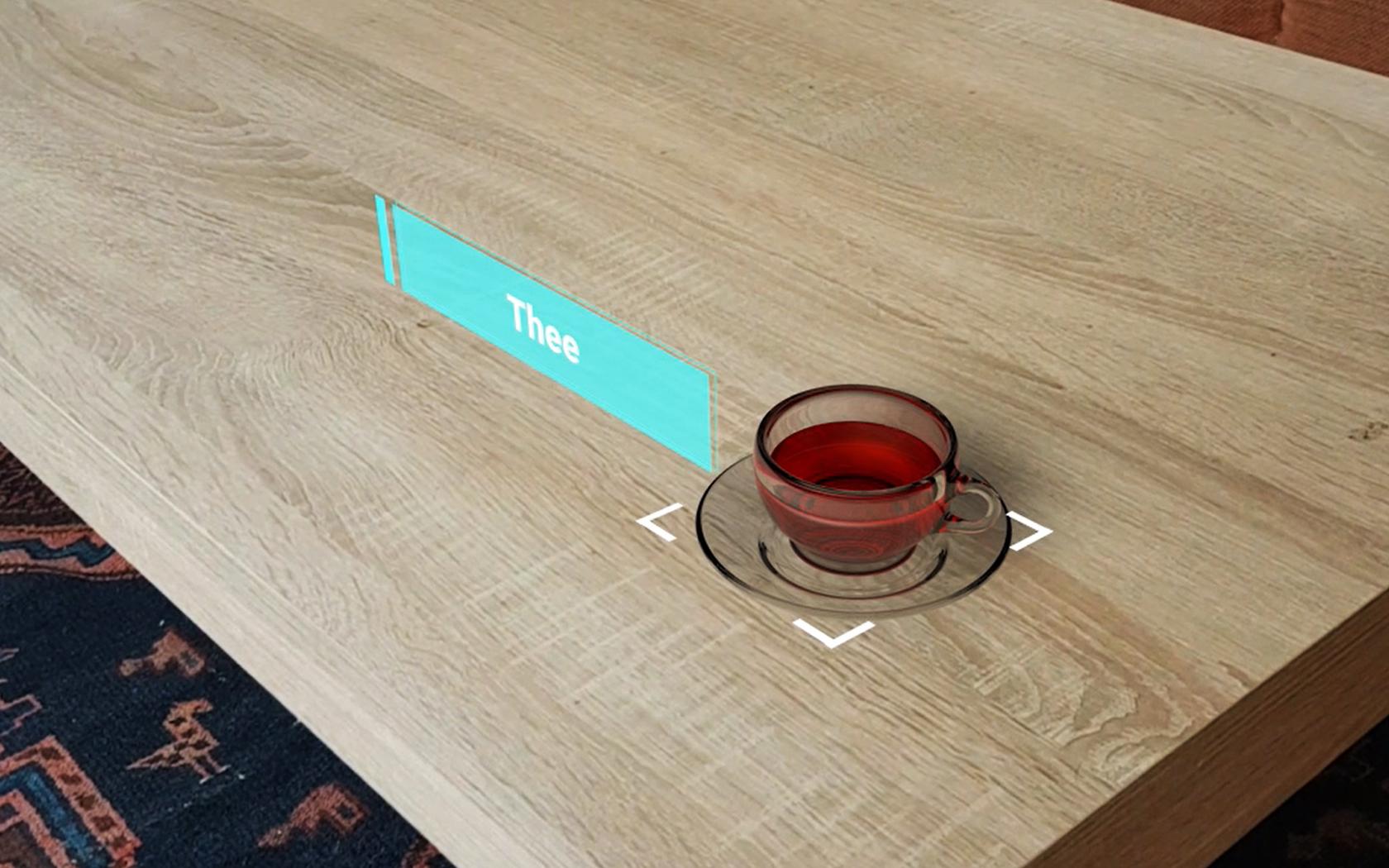 Virtueel Thee Zetten - 3D & Motion Tracking