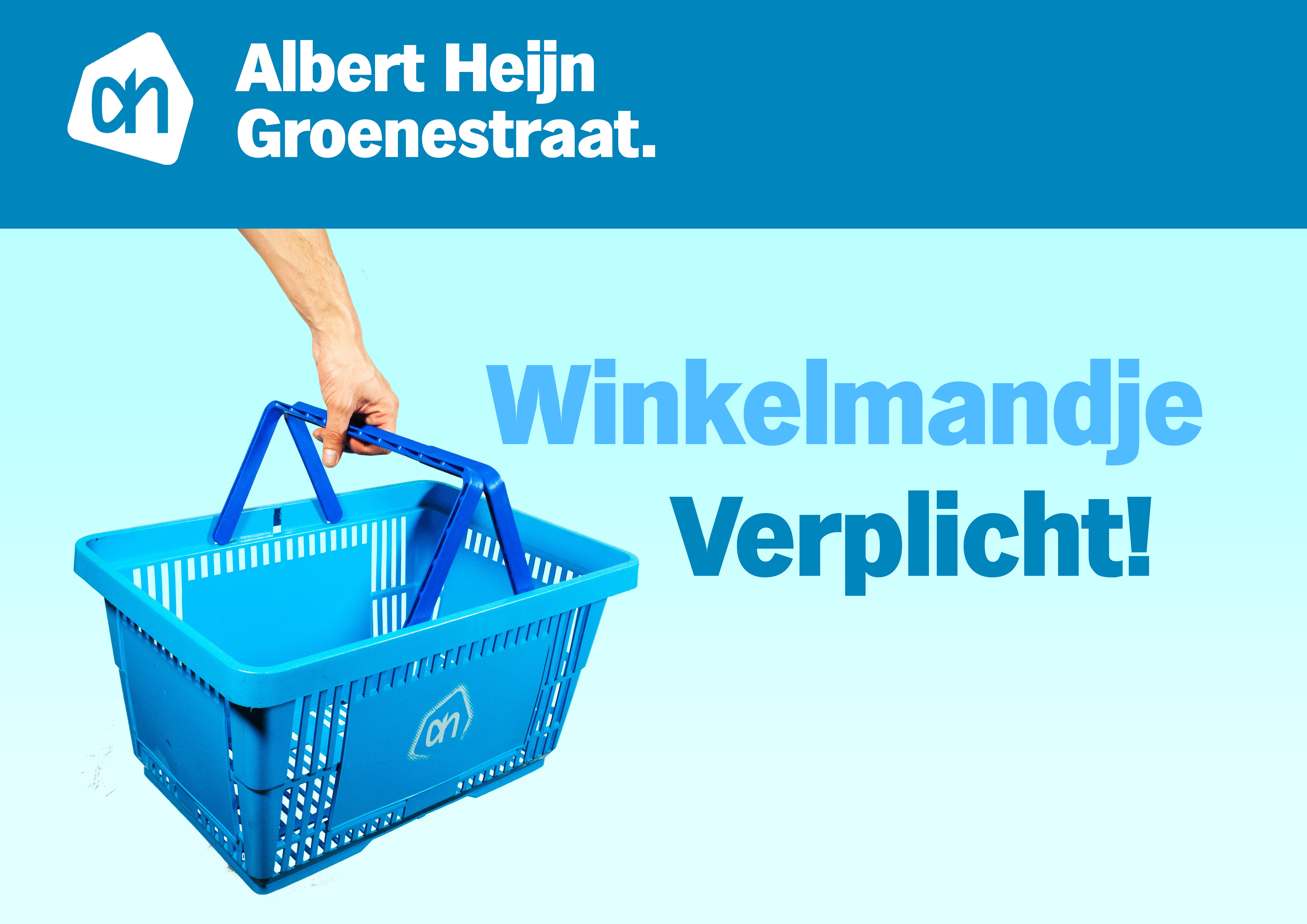 Winkelmandje - greenscreen